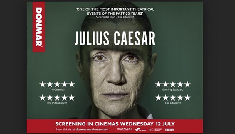 Phylllida Lloyd's Julius Caesar in competition at the Edinburgh festival