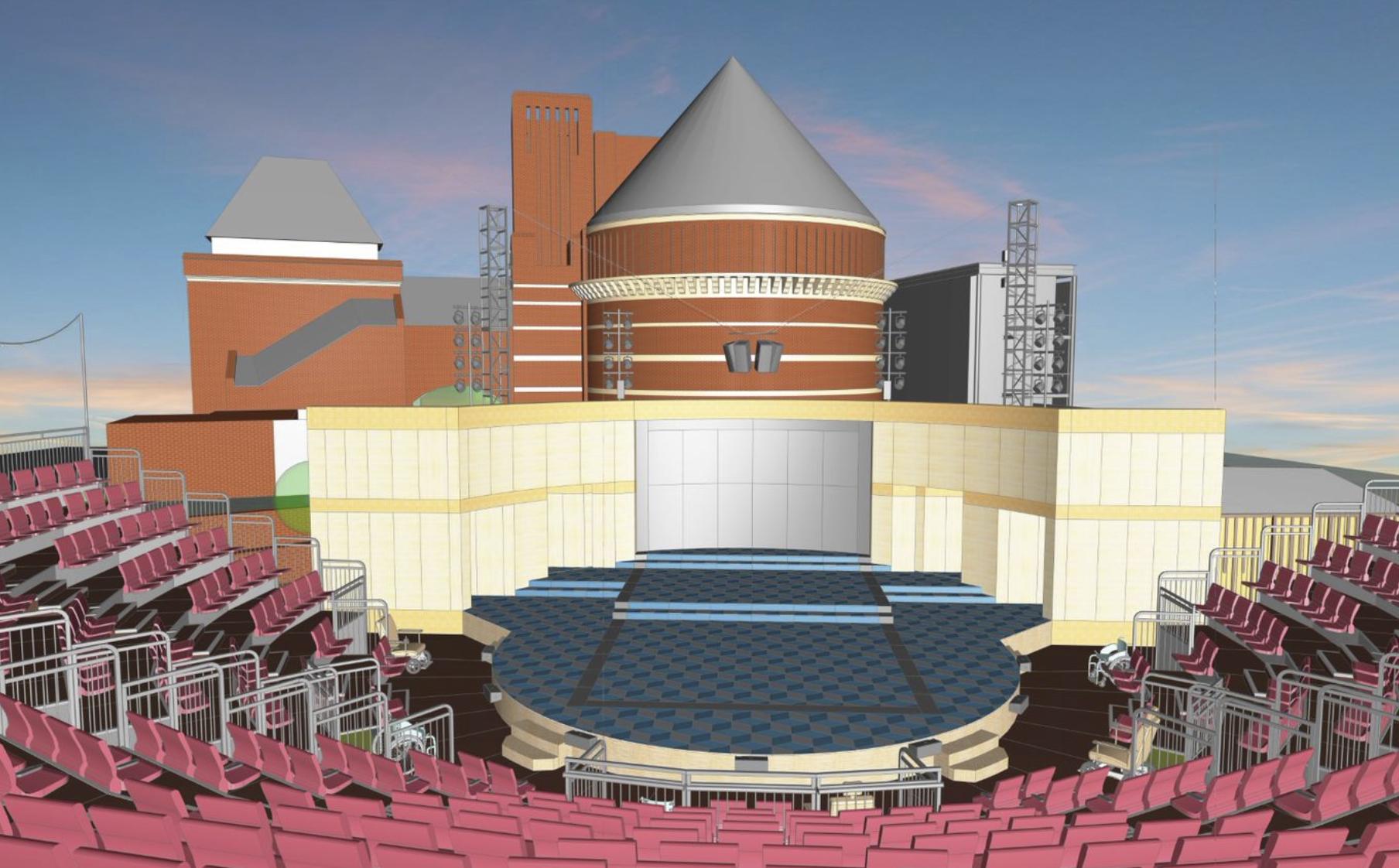 The Lydia & Manfred Gorvy Garden Theatre.  https://www.rsc.org.uk/your-visit/our-theatres/garden-theatre